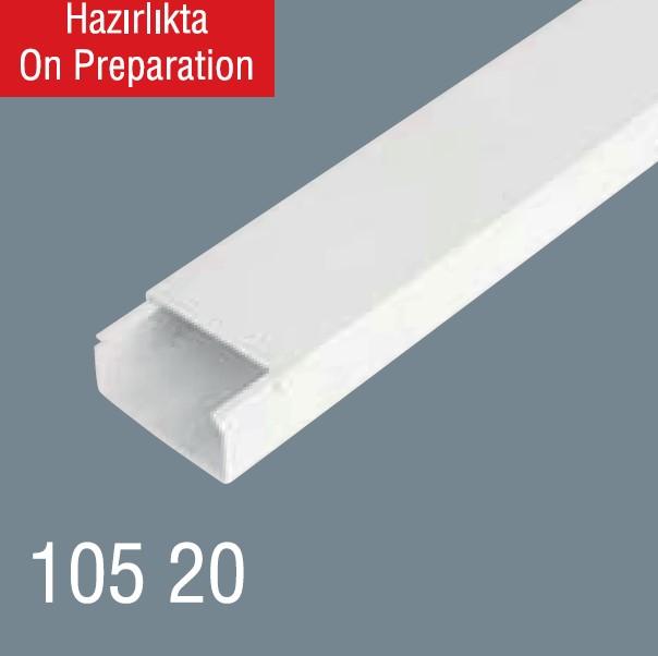 120x60 PVC Kablo Kanalı 105 20