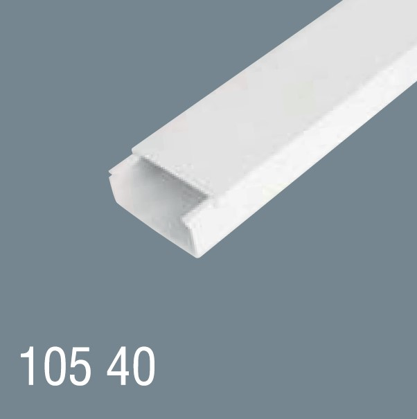 100x40 PVC Kablo Kanalı 105 40