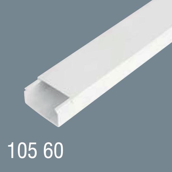 100x60 PVC Kablo Kanalı 105 60