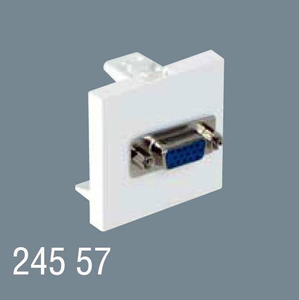 45x45 WGA Priz Konnektörü 245 57