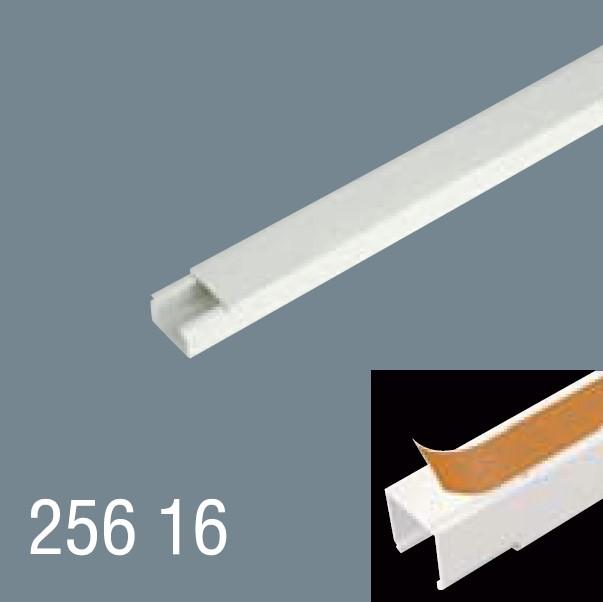 25x16 PVC Yapışkan Bantlı Kablo Kanalı 256 16