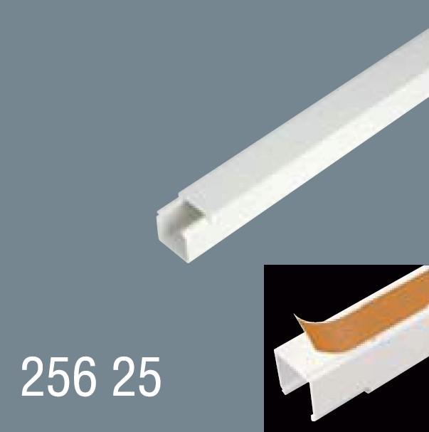 25x25 PVC Yapışkan Bantlı Kablo Kanalı 256 25