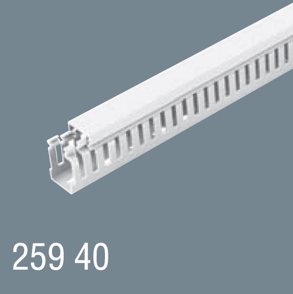 25x40 PVC Kablo Kanalı 259 40