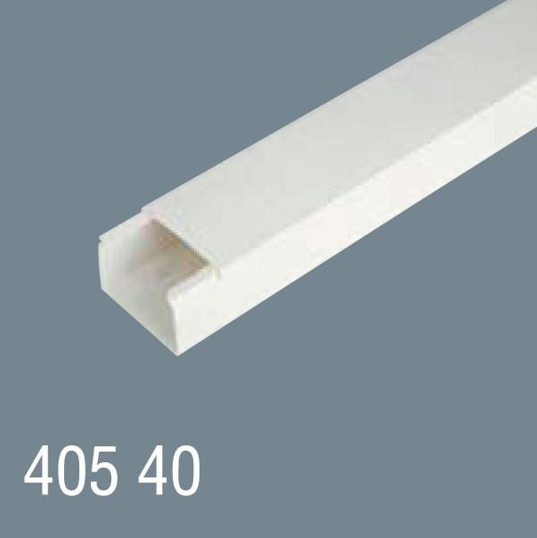 40x40 PVC Kablo Kanalı 405 40