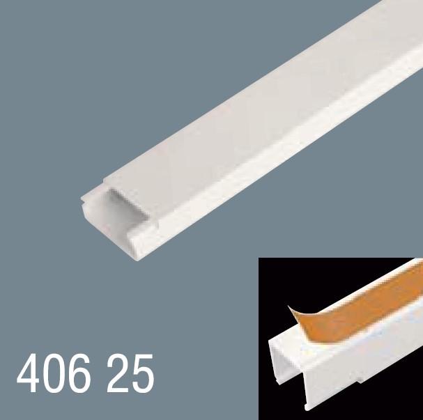 40x25 PVC Yapışkan Bantlı Kablo Kanalı 406 25