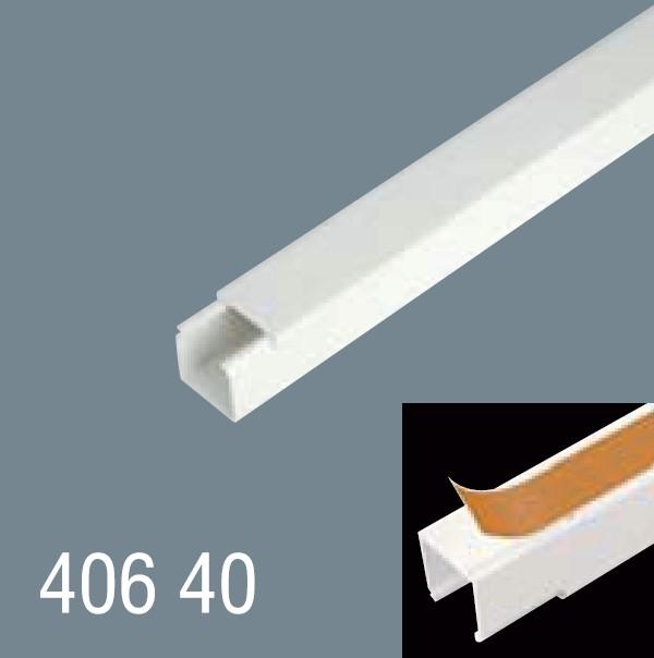40x40 PVC Yapışkan Bantlı Kablo Kanalı 406 40