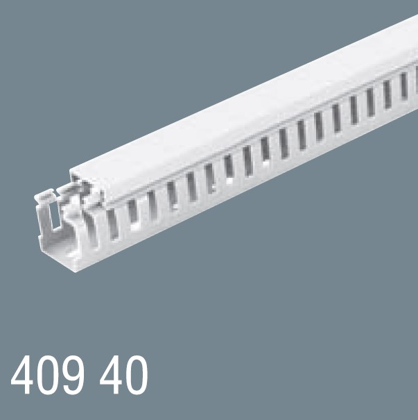 40x40 PVC Kablo Kanalı 409 40