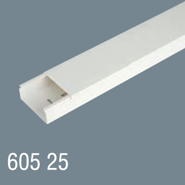 60x25 PVC Kablo Kanalı 605 25