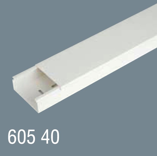 60x40 PVC Kablo Kanalı 605 40