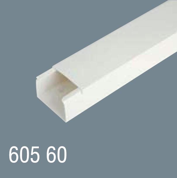 60x60 PVC Kablo Kanalı 605 60