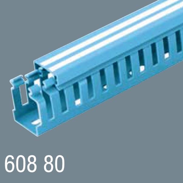 60x80 PVC Kablo Kanalı 608 80