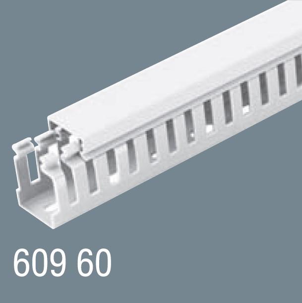 60x60 PVC Kablo Kanalı 609 60