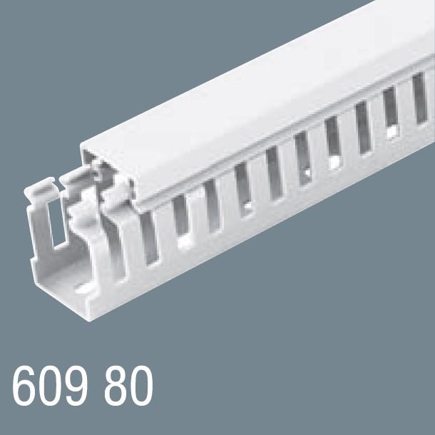 60x80 PVC Kablo Kanalı 609 80