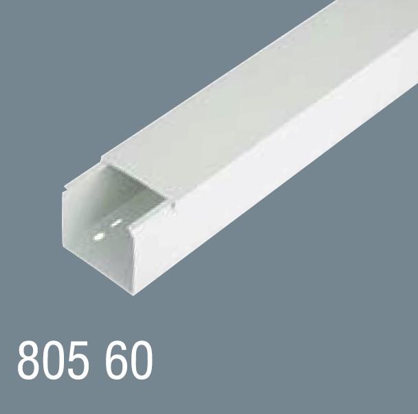 80x60  PVC Kablo Kanalı 805 60