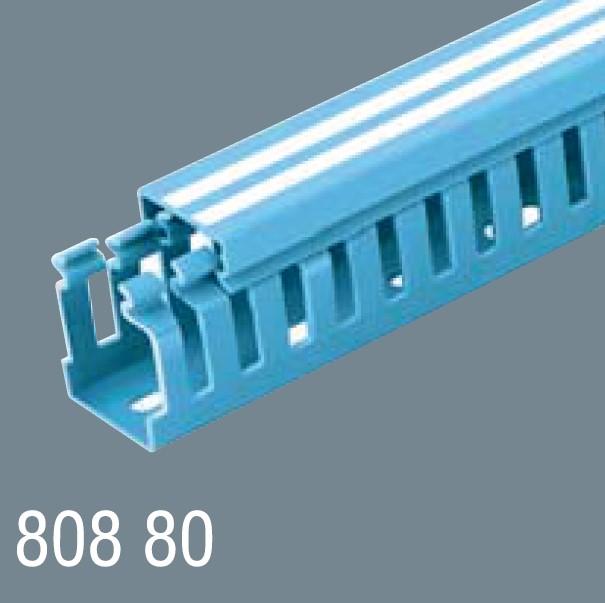 80x80 PVC Kablo Kanalı 808 80