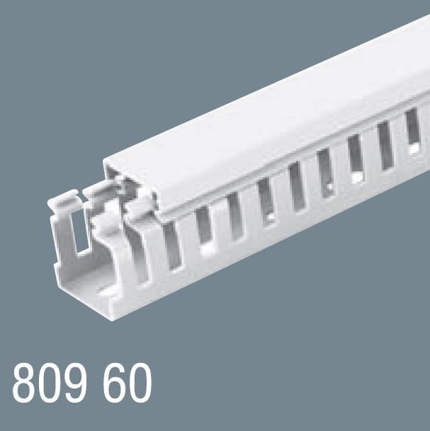 80x60 PVC Kablo Kanalı 809 60