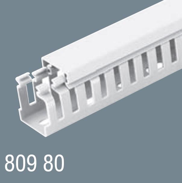 80x80 PVC Kablo Kanalı 809 80